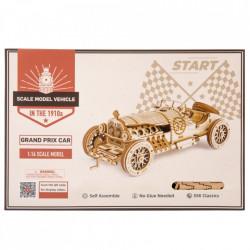 Puzzle 3D lemn Masina de curse cutie