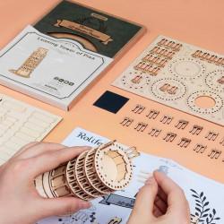 Puzzle 3D lemn Turnul din Pisa 2