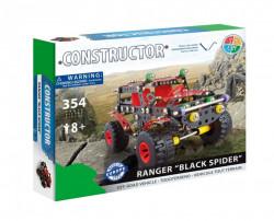 Set constructie Masina de teren Ranger Black, 354 piese in cutie