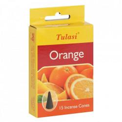 conuri parfumate portocala