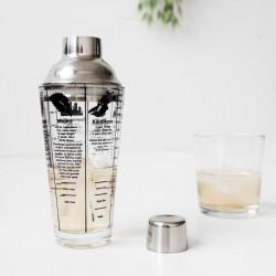 Shaker Cocktail Mix Master cu retete