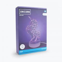 Lampa 3D unicorn in cutie