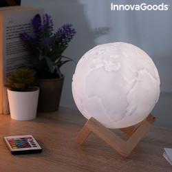 Lampa Glob Pamantesc 3D in culori