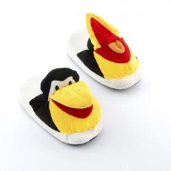 papuci pufosi pinguin 1