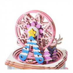 Puzzle 3D din lemn cutie muzicala For my Dear brad