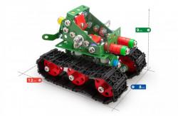 Set constructie Tanc Tanky, 219 piese dimensiuni