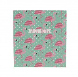 Sticky notes flamingo 1