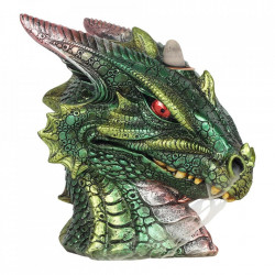 Vas aromaterapie cascada de fum Green Dragon