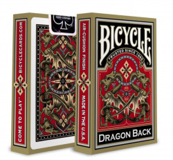 Carti de joc Bicycle Dragon Back Gold cutie
