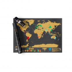 Harta razuibila a lumii Editia Deluxe Luckies 3