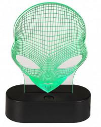 Lampa 3D Alien