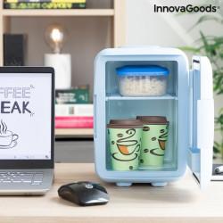 Mini frigider pentru cosmetice cu incalzire