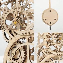 puzzle 3d din lemn ceas cu pendul mecanism