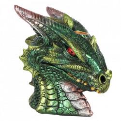 Vas aromaterapie cascada de fum dragon verde