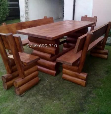 Poze Set lemn masiv luxury