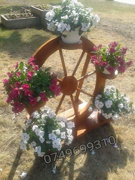 Poze Suport rustic pentru flori