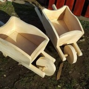 Roaba rustica din lemn