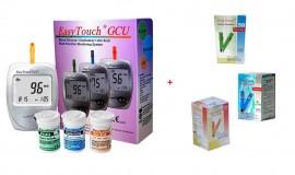 Poze EasyTouch GCU + 50 teste glicemie + 10 teste colesterol + 25 teste acid uric