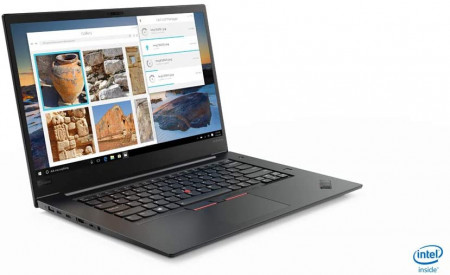"Poze Lenovo ThinkPad X1 EXTREME 2nd Gen Core™ i7-9850H 2.6GHz 512GB SSD 16GB 15.6"" HDR OLED (3840x2160) BT WIN10 Pro Webcam NVIDIA® GTX 1650 Max-Q 4096MB BLACK Backlight Keyboard FP Reader .7"" thin, 3.76 lbs."