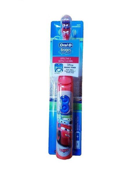 Poze ORAL-B Stages Power DB3.010, CARS, periuta de dinti cu baterie, pt copii