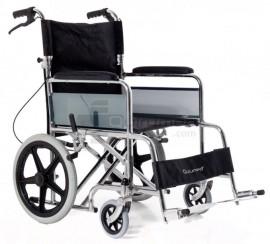 QMED 183-870ABJ-46 - Scaun de otel cromat pliabil special pentru transport