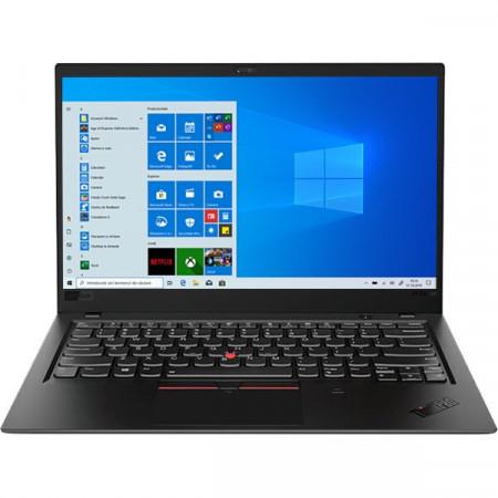"Poze Lenovo ThinkPad X1 CARBON Core™ i7-8665U 1.9GHz 1TB SSD 16GB 14"" UHD (3840x2160) BT WIN10 Pro Webcam BLACK Backlit Keyboard FP Reader .58"" thin, 2.4 lbs."