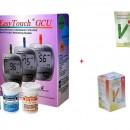 EasyTouch GCU + 50 teste glicemie + 10 teste colesterol + 25 teste acid uric