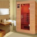 QMED QMSA2 - Sauna de interior cu infrarosu, 2 sectiuni