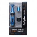 BaByliss 7180U BLUE, trimmer 3-in-1 pentru barbati, albastru