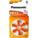 PANASONIC PR13 - baterii ZincAir 1.4V, 6buc