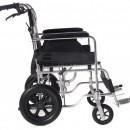 QMED 183-865LABJ-46 - Scaun cu rotile din aluminiu pentru calatorie