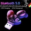HBQ-XG17 Casti bluetooth cu suport dublu USB, V5.0+EDR,  4ore convorbiri si muzica