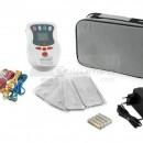 QMED LIPO240 - Electrostimulator muscular profesional, portabil, cu 4 canale si 30 de programe (TENS/EMS)