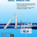 DS-2000 Irigator dentar cu periute, conectare la bateria de chiuveta, robinet conector de metal