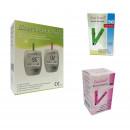 EasyTouch GH + 50 teste glicemie + 25 hemoglobina