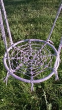 Градинска кръгла люлка