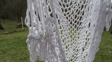 Люлка- ръчно плетена