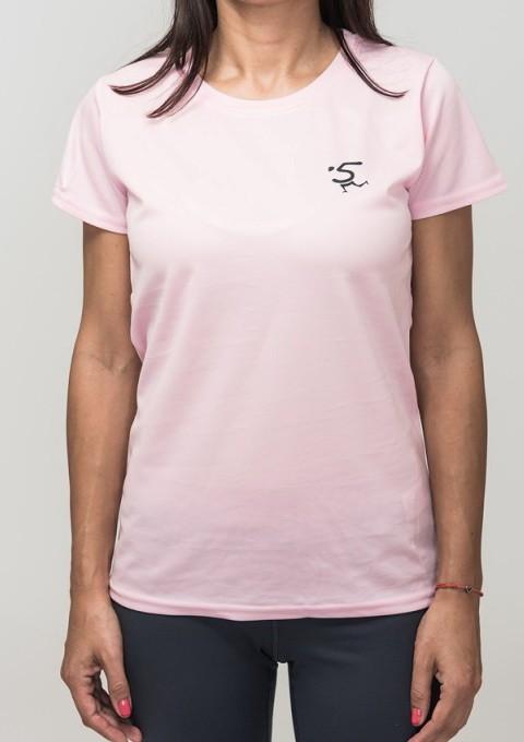 a0c8e247633 Дамска рънинг тениска (new) - 5kmrun, цвят Червен, Розов и Жълт ...