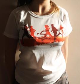 Брандирана рънинг тениска за Мъже и Жени изображения