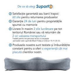 Perna ortopedica lombara pentru scaun cu suport lombar