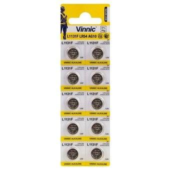 Baterie ceas Vinnic  L1131 / LR1130 / 189 / V10GA / RW89 / D189 - AG 10 - Blister 10buc.