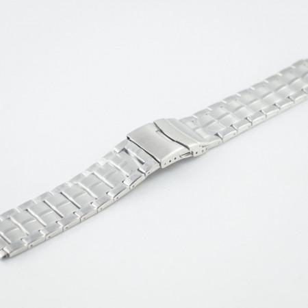 Bratara metalica argintie 22mm- 37436