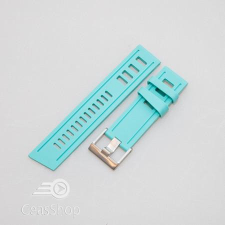 Curea ceas stil Isofrane turcoaz 24mm - 49793
