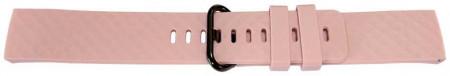 Curea din silicon pentru Fitbit Charge 3 roz -60114