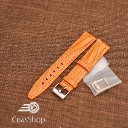 Curea model soparla captusita pe jumătate portocalie  18mm - 45810
