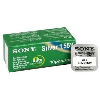 Baterie ceas Sony 362  SR721SW - AG11