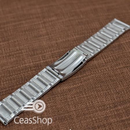 Bratara metalica argintie 22mm - 37445