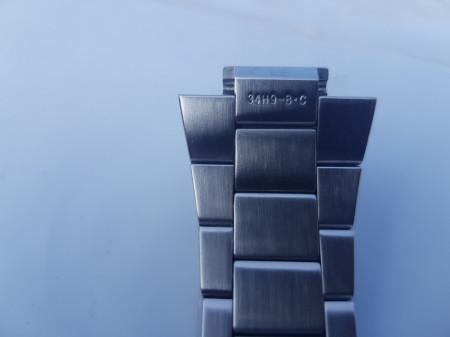 Brătară originala Seiko Sportura argintie - 29mm