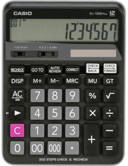 Calculator de birou Casio DJ 120D PLUS