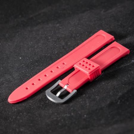 Curea ceas sport rosie 22 mm - 34589